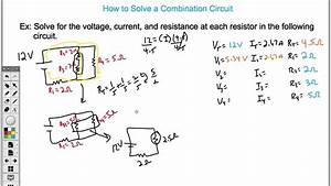 Combination Circuit Diagrams : how to solve a combination circuit easy youtube ~ A.2002-acura-tl-radio.info Haus und Dekorationen