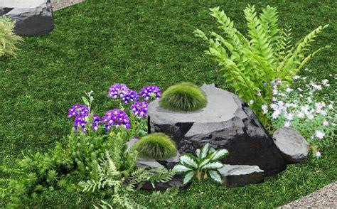 disenos  de jardines fotos renders sobre varias