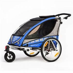 Fahrradanhänger Kinder Test : qeridoo sportrex2 2016 blau ebay ~ Kayakingforconservation.com Haus und Dekorationen