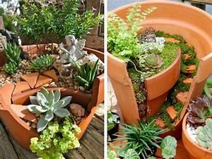 Pinterest Bricolage Jardin : id e d co jardin recyclage ~ Melissatoandfro.com Idées de Décoration