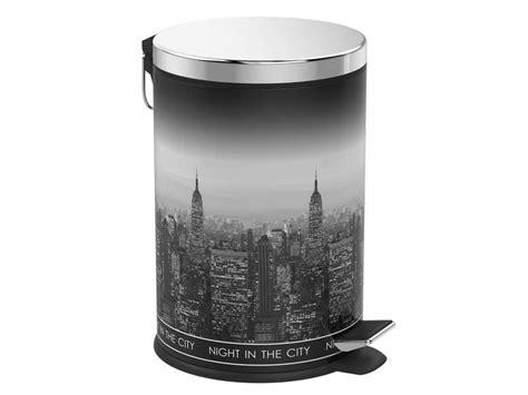 poubelle york chambre deco york conforama