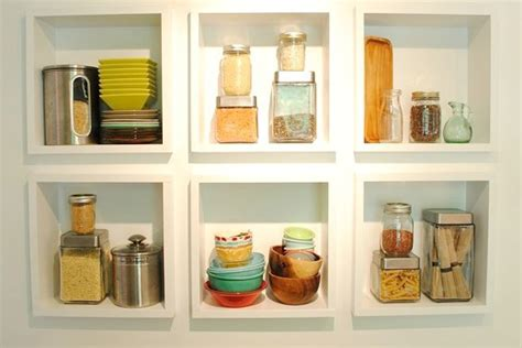 Store More In Your Kitchen With Shelves And Cabinets