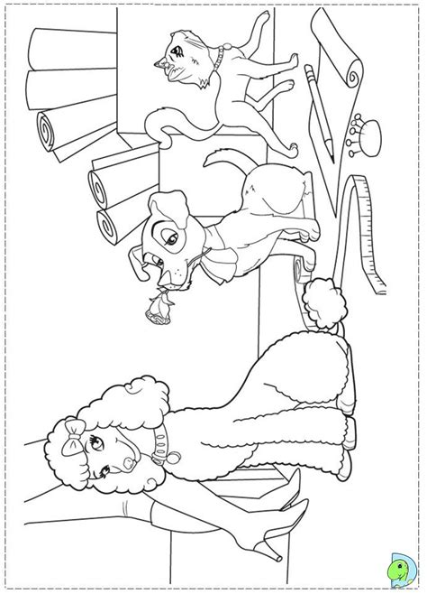 barbie fashion fairytale coloring pages  kids dinokidsorg