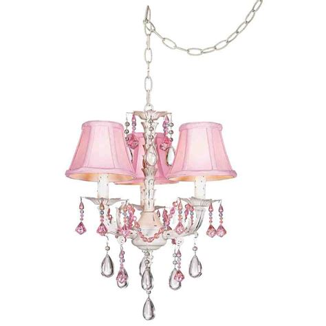 pink chandelier l shades decor ideasdecor ideas
