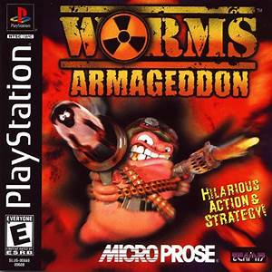Play Worms Armageddon Sony PlayStation online | Play retro ...