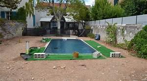 creation jardin de ville avec piscine marseille prado With ordinary jardin paysager avec piscine 6 creation