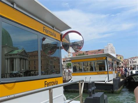 Venice Boat Pass Prices by Venice Map At Ferrovia Station Vaporetto Stop