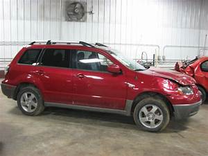 2003 Mitsubishi Outlander Air Cleaner