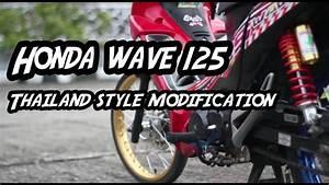 Honda Wave 125 Thailand Modification