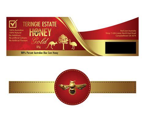 elegant   company label design  red lion