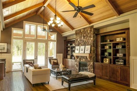 mascord house plan aa fireplaces french doors  built ins