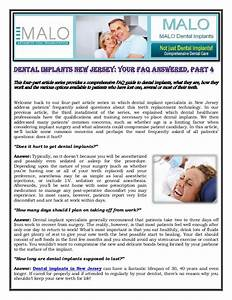 Dental Implants New Jersey  Your Faq Answered  Part 4
