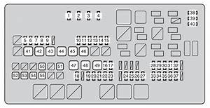 Toyota Sequoia  2008 - 2011  - Fuse Box Diagram