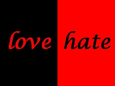 Love Hate  Online Quotes Gallery