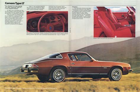 Gm 1977 Chevrolet Camaro Sales Brochure