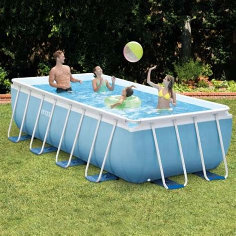 intex prism frame swimming pool intex above ground pools