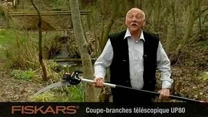 Vidéo FISKARS Scie pour coupe-branches multifonctions ...