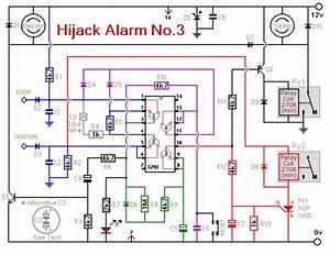 How To Build Vehicle Anti-hijack Alarm No3