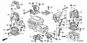 2007 Honda Odyssey Engine Parts Diagram