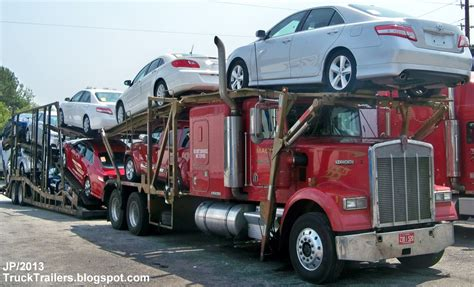 truck car truck trailer transport express freight logistic diesel