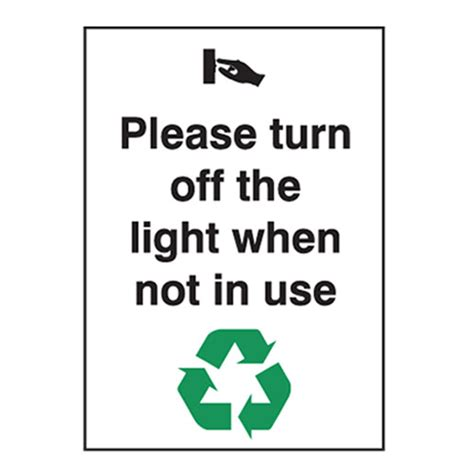 shut the lights off please turn off the light when not in use