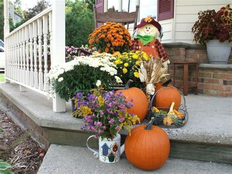 Decorating Ideas For Fall Outside by Fabulous Outdoor Fall D 233 Cor Ideas