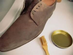 Nettoyer Le Daim : nettoyer ses chaussures en daim nubuck et veau velours express look ~ Nature-et-papiers.com Idées de Décoration