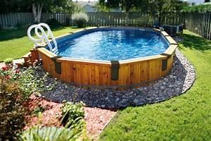 la piscine hors terre ou creusee thermopompe ou With photo amenagement paysager exterieur 6 realisations de piscines creusees en beton piscine