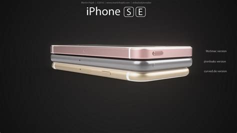 apple unveils new iphone se iphone se renders comparison apple lives