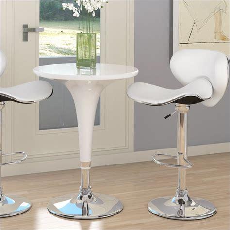 sonax corliving 3 pc height bar table white pub set ebay