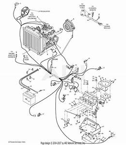 Scag Stt61v-29kb-df  S  N E5800001-e5899999  Parts Diagram For Electrical System