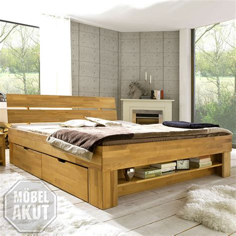 bett 140x200 bettkasten futonbett sofie bett in kernbuche massiv ge 246 lt inkl bettkasten regal 140x200 ebay