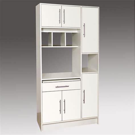 meuble de cuisine micro onde buffet micro ondes 6 portes 1 tiroir 4 niches