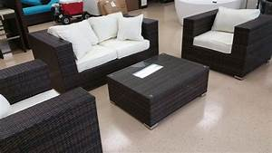 King Size 4 Piece Outdoor Wicker Patio Furniture Set  U2013 San Diego Factory Direct Wholesale