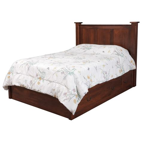 "California King Pedestal Bed W 60"" Storage Drawer On Each"