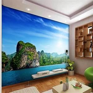 custom photo wall mural wallpaper 3d Luxury Quality HD Sea ...