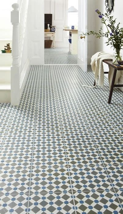 turn your hallway into a showstopper with these tiles