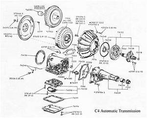 C4 Trans Diagram  1973 1979 Ford Truck Van Automatic Transmission  Project 666 Receives Tci 39 S