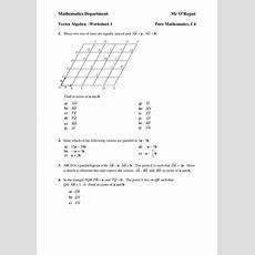 Vectors Worksheet By Pstern  Uk Teaching Resources Tes