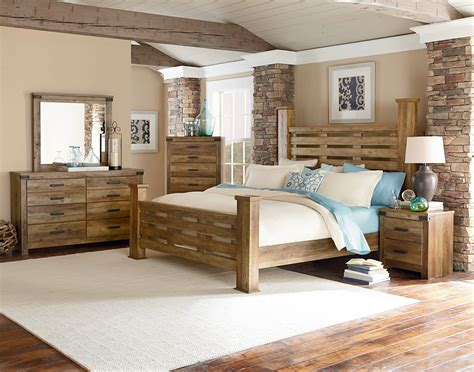 Standard Furniture Montana Buckskin 2pc Bedroom Set With