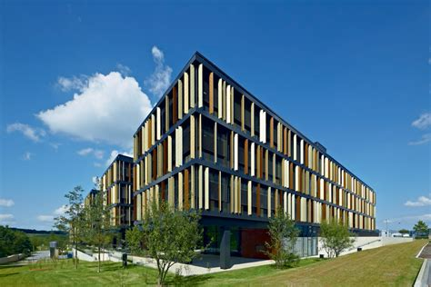 lalux corporate headquarters luxembourg  architect