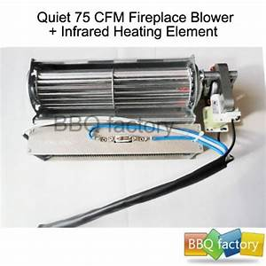 Amish Electric Stoves  Replacement Fireplace Fan Blower
