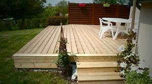 Terrasse Avec Palette : terrasse jardin en palette ~ Melissatoandfro.com Idées de Décoration
