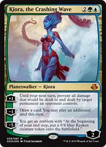 Kiora, the Crashing Wave (Duel Decks: Elspeth vs. Kiora ...