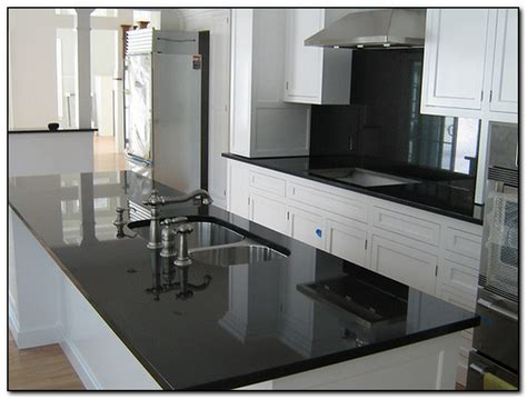 pics of kitchens with black cabinets kitchen with black countertops for design home 9093