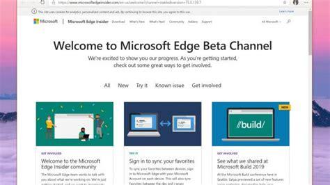 chromium microsoft edge beta for windows 10 leaked