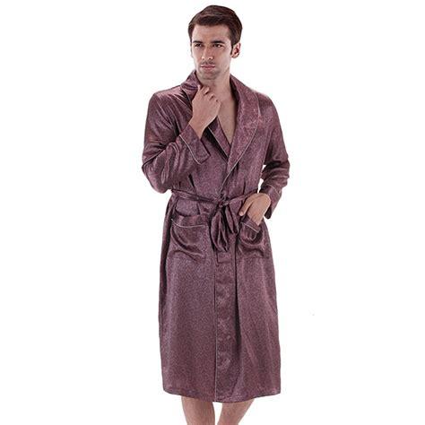 robe de chambre hommes robe de chambre satin homme
