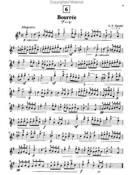 Suzuki Violin School Volume 2 by Suzuki Violin School Volume 2 Violin Part