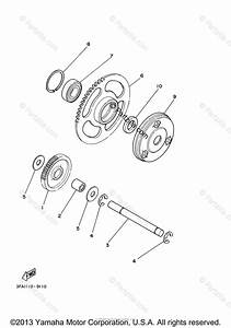 Yamaha Atv 2007 Oem Parts Diagram For Starter Clutch