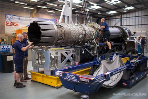 Bloodhound Receives Eurofighter Typhoon's Ej200 Jet Engine